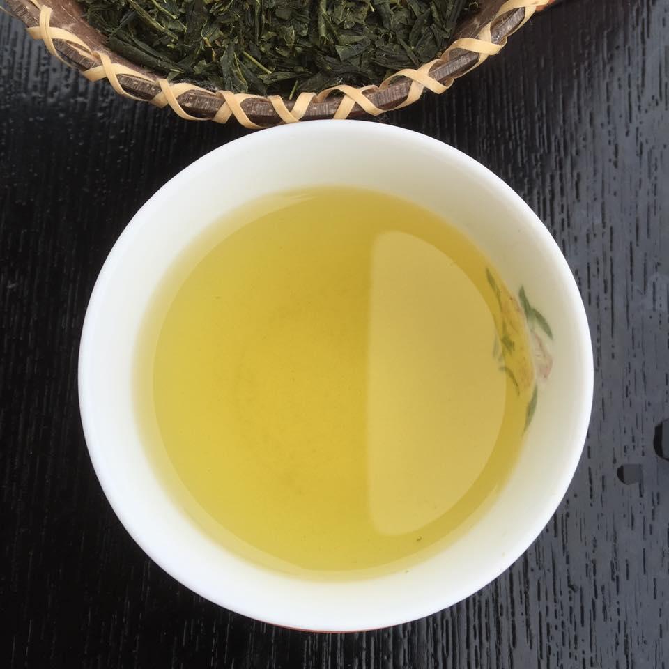 японский чай банча