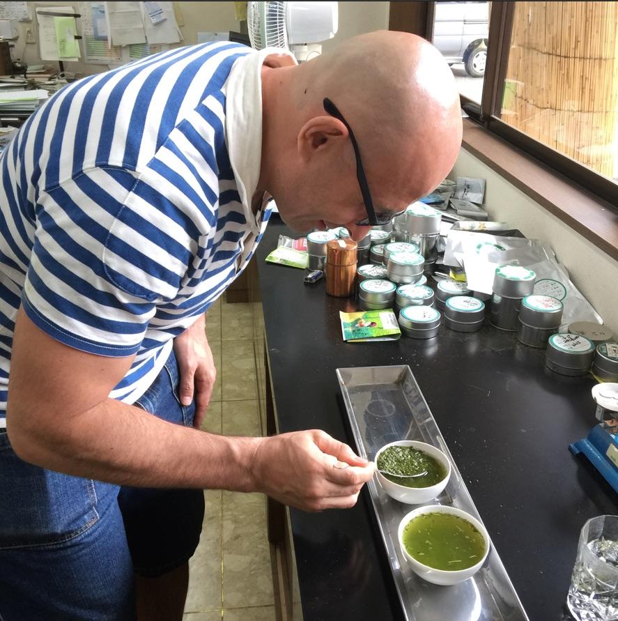 дегустация зелёного чая саяма сенча