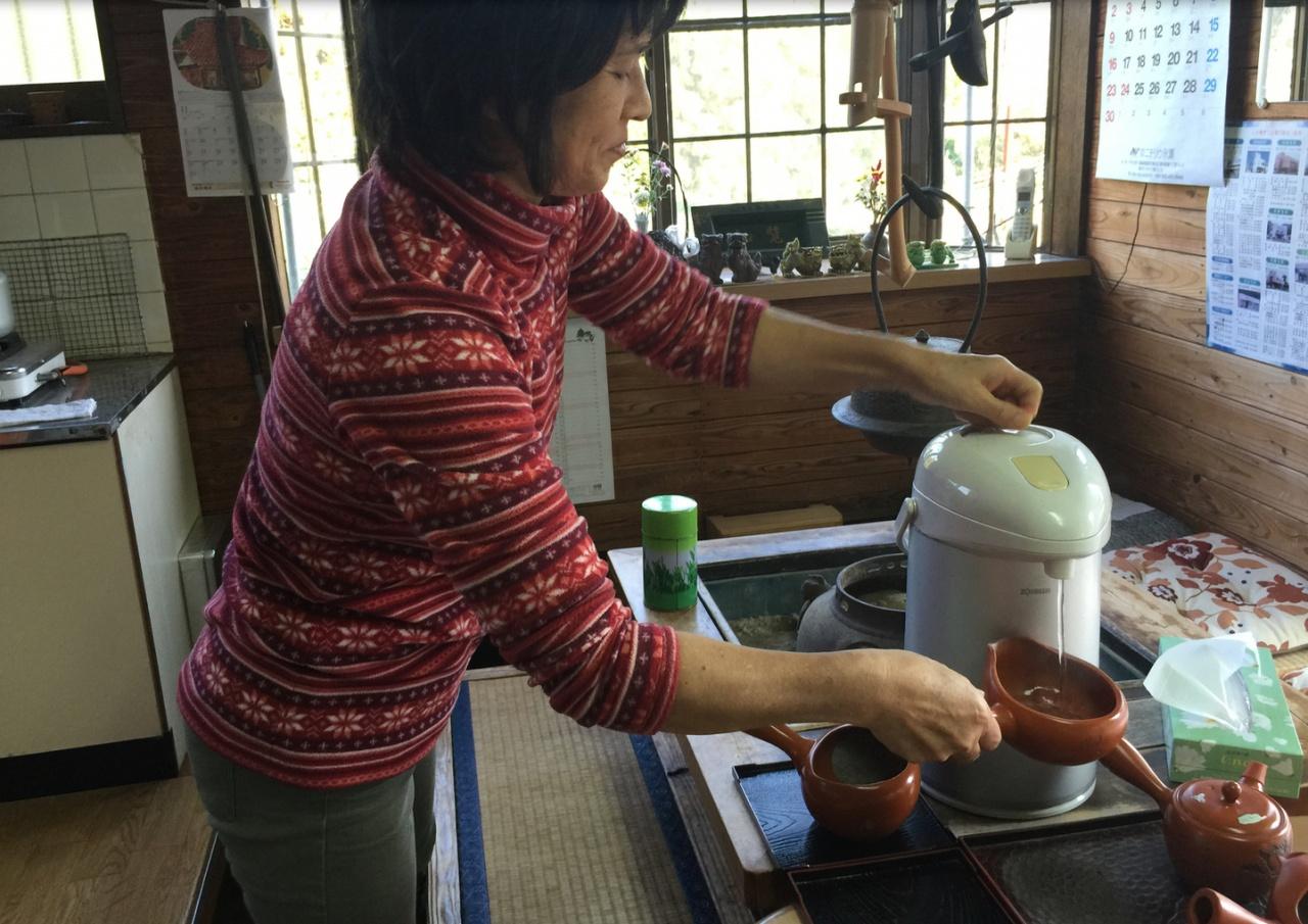чиранча чай из Японии