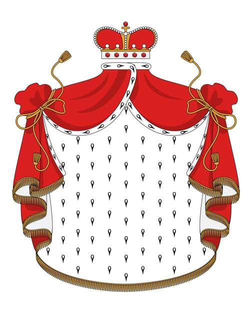 королевская мантия
