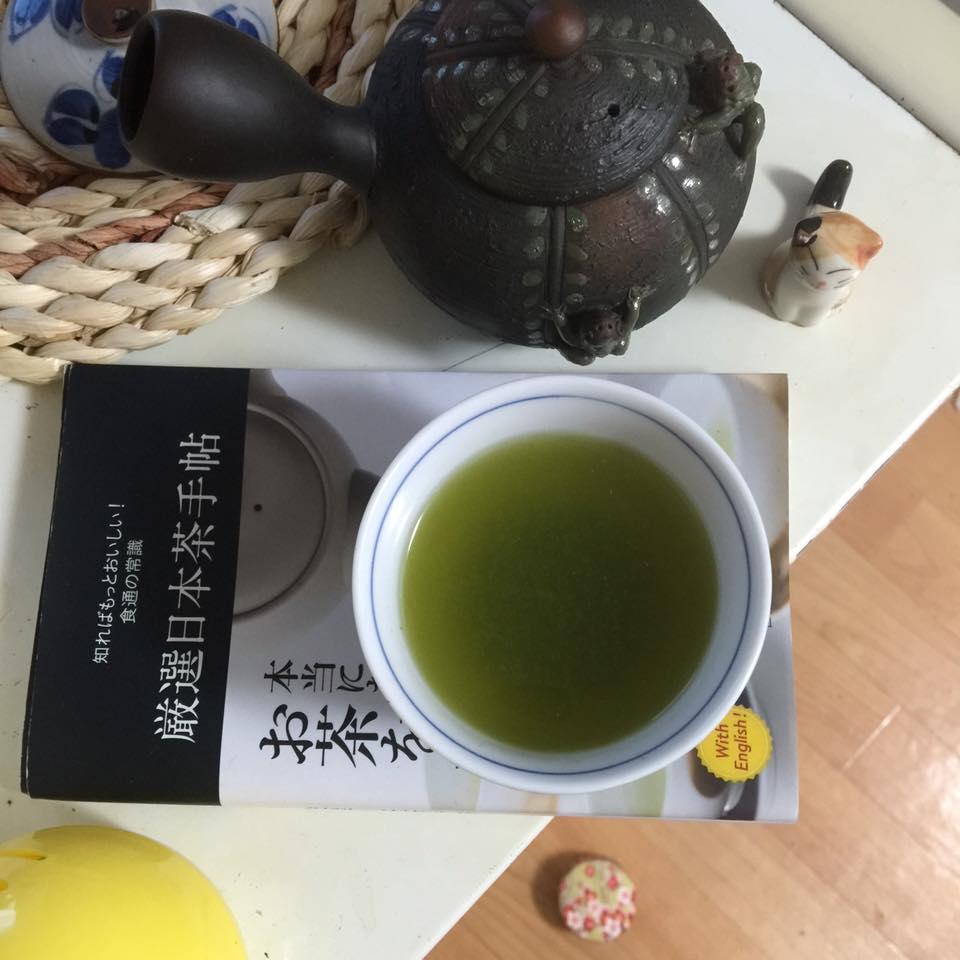 зелёный японский чай конача