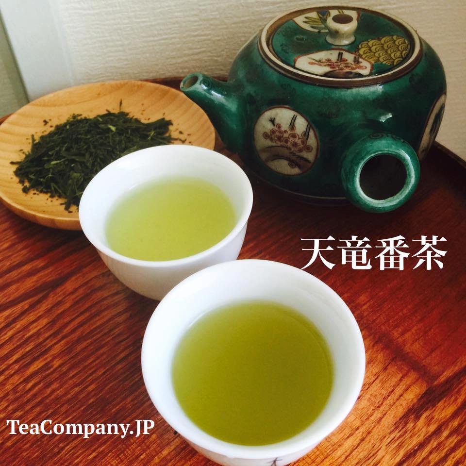 зелёный чай тэнрю банча