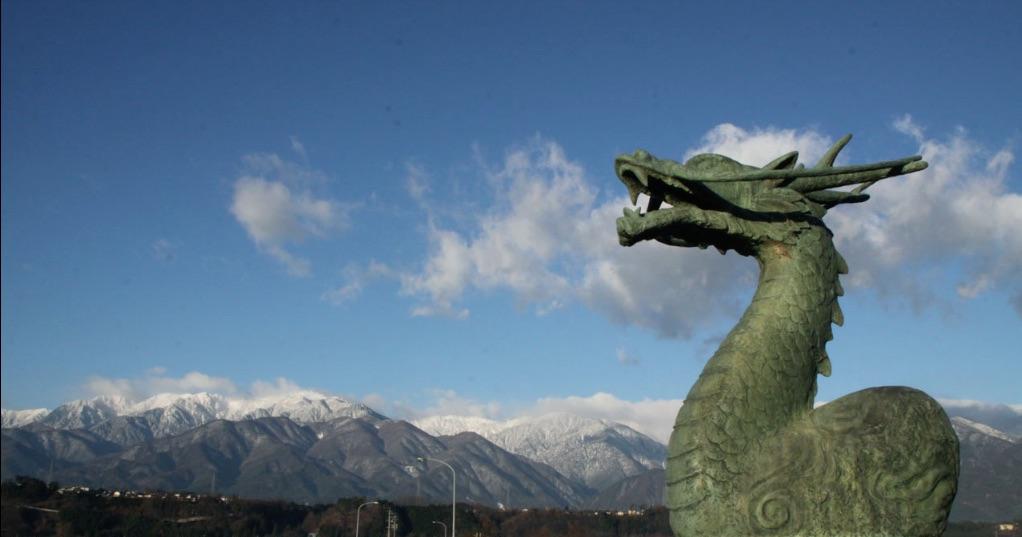 тэнрю небесный дракон Япония
