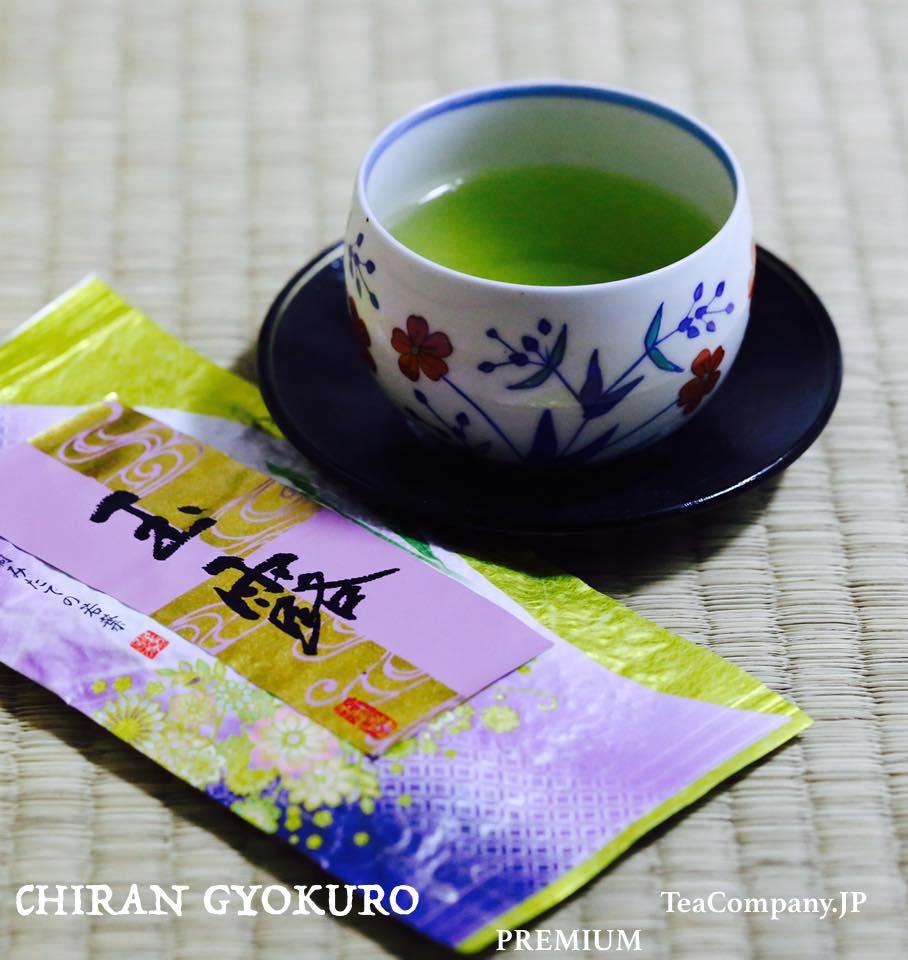 чиран гёкуро чай