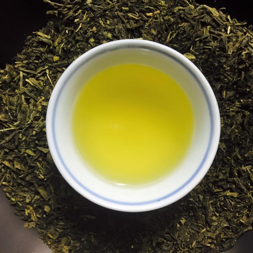 сенча с лимонным сорго