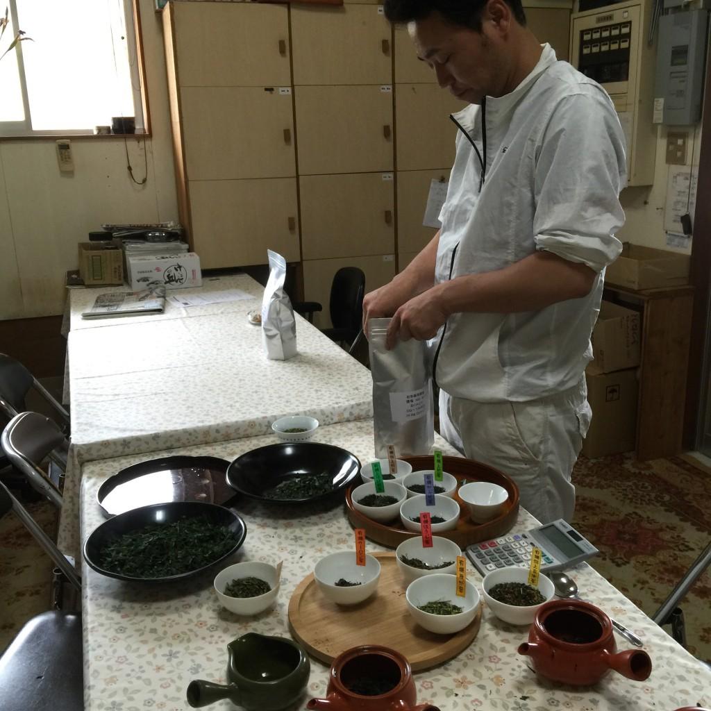 дегустация зелёного чая