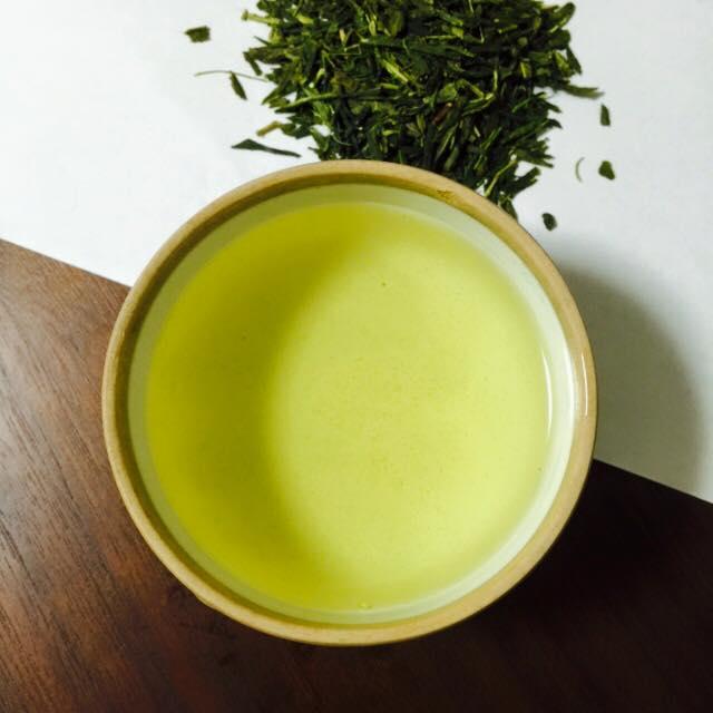 зелёный чай из Японии