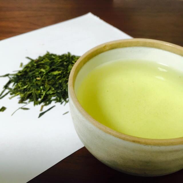 зелёный чай аоянаги из Удзи