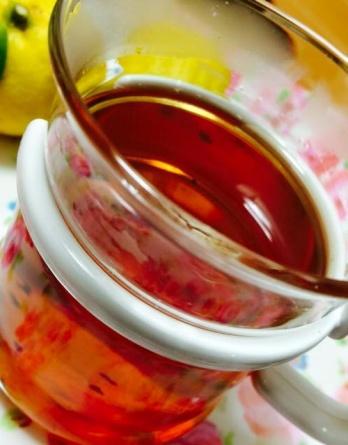 идзумо чёрный японский чай