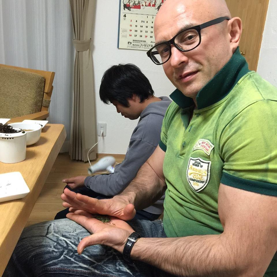 принц кумамото чёрный чай