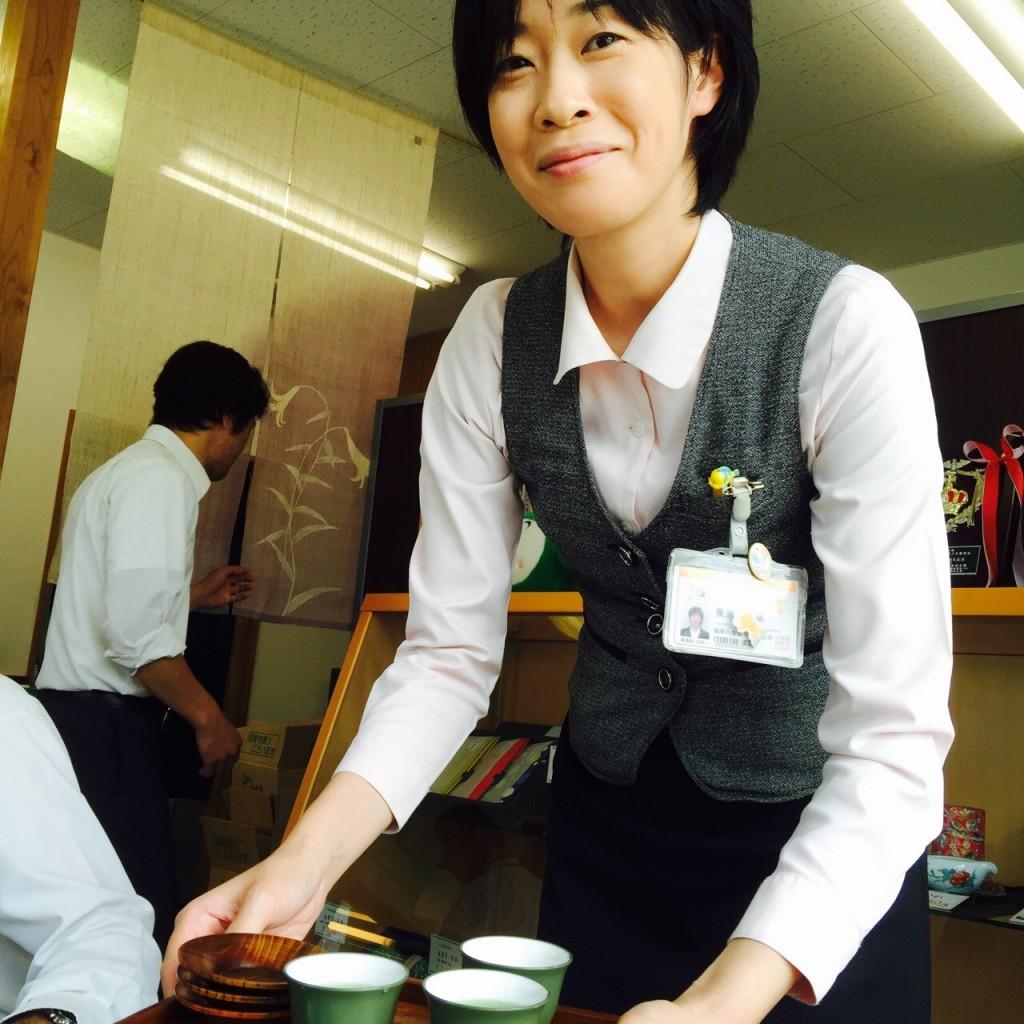 купаж чая сенча из Ямэ