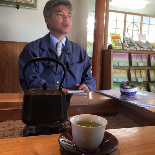 японский чайный мастер