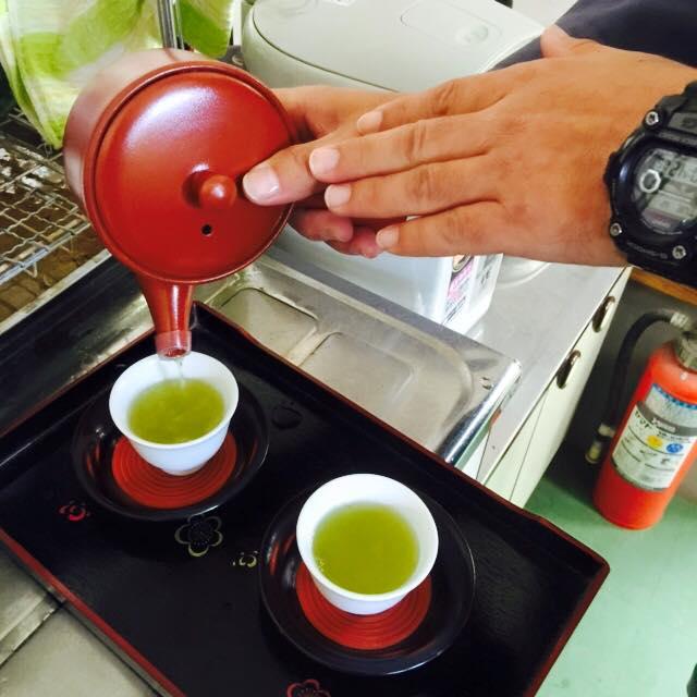 зелёный чай сенча мияко но дзё