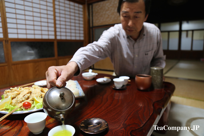 Ябэмура Сираорэ зелёный чай