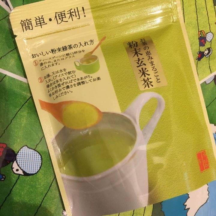 порошковый Какегава генмайча чай