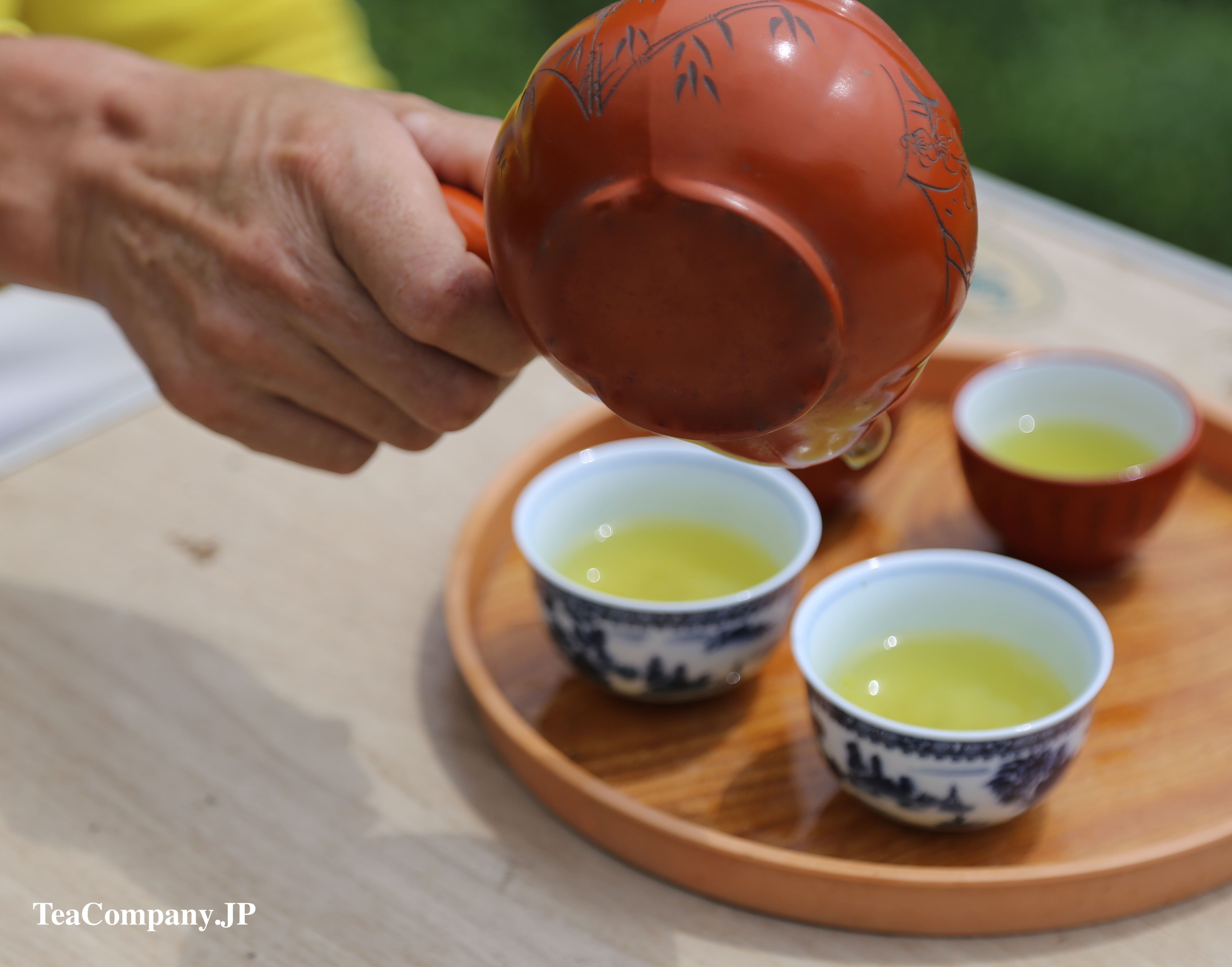 Зелёный чай Тэнрю курадаси
