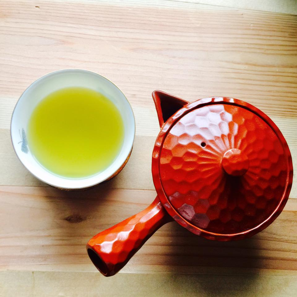глиняный чайник кюсу Банко