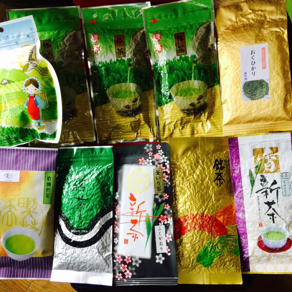 зелёный чай из Японии в Сочи