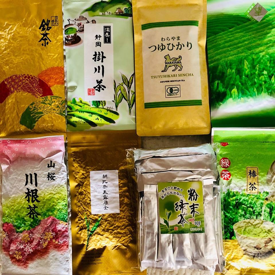 японский чай летит в США