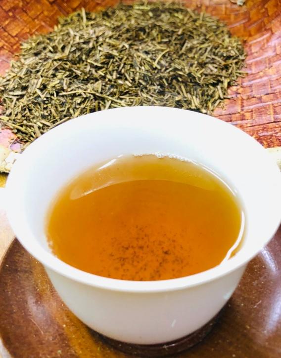 Кирисима боча жареный чай