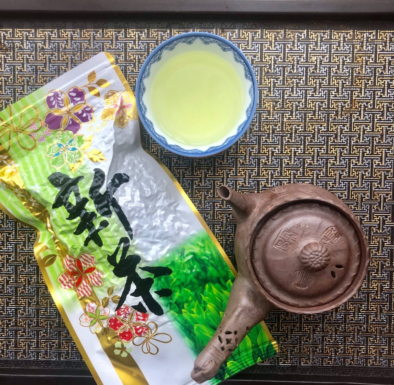 зеленый чай софу