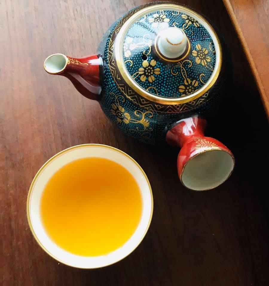 чёрный чай с имбирём из Кумамото