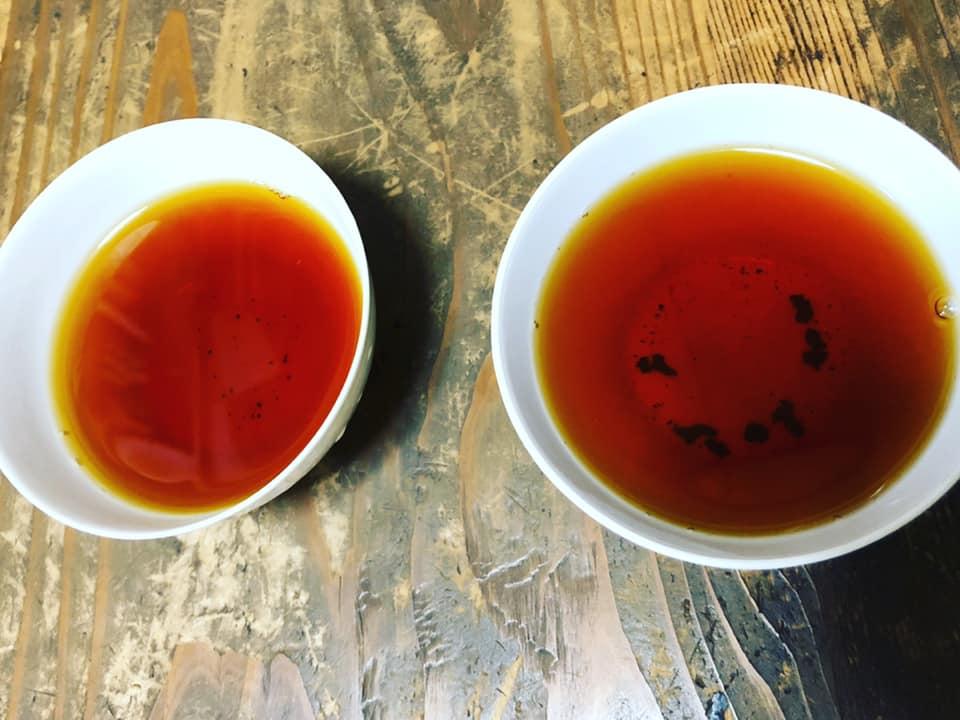 черный японский чай вакоча