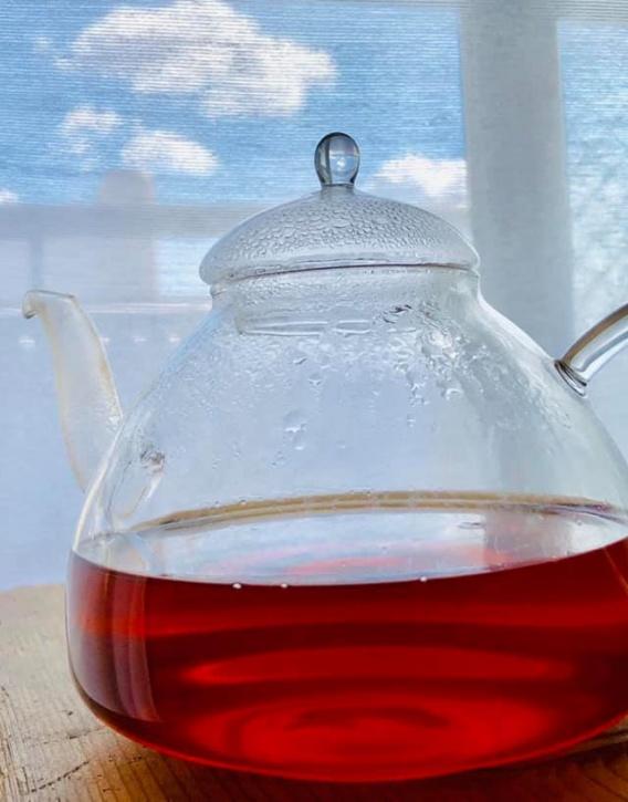 Черный чай с юдзу