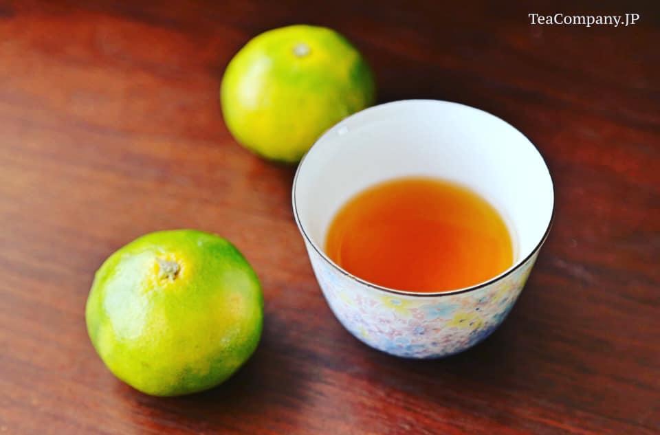 черный чай с юдзу из Миядзаки