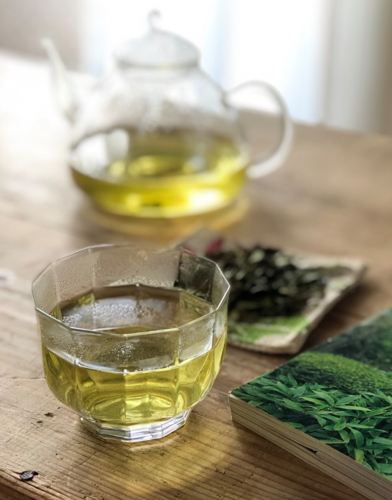 весенний банча чай